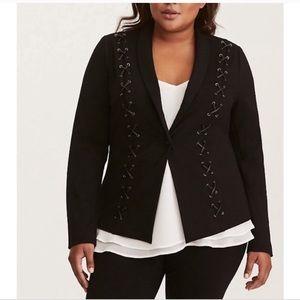 Torrid Plus Size Lace Blazer